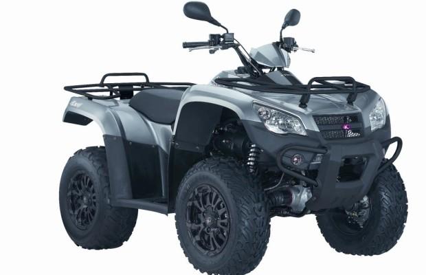 Kymco schickt neues ATV ins Gelände