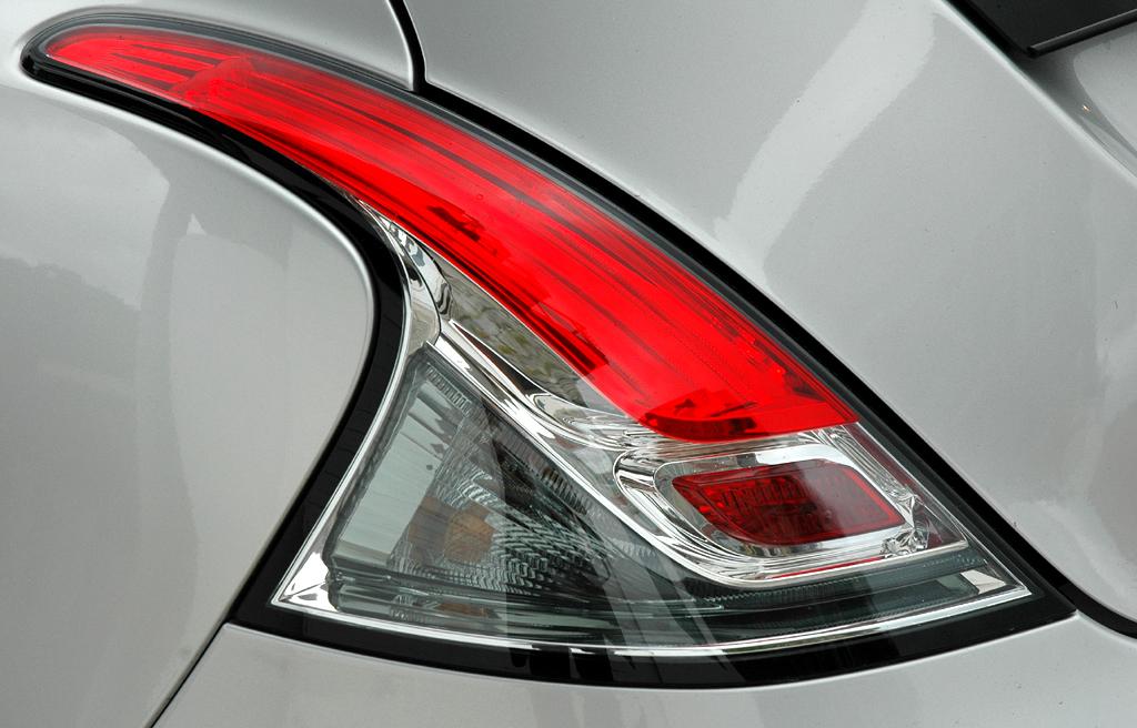 Lancia Ypsilon: Moderne LED-Leuchteinheit hinten.