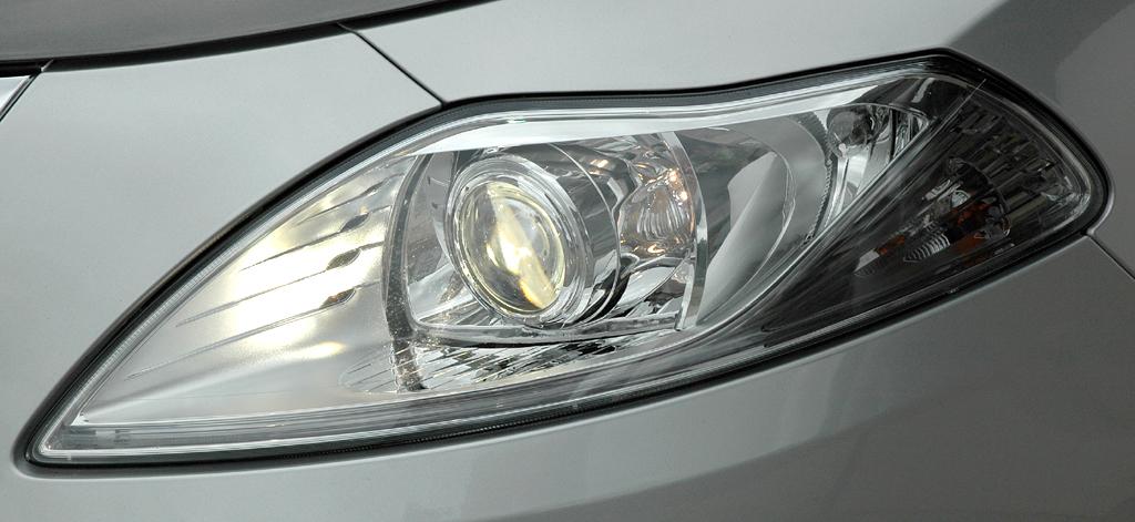 Lancia Ypsilon: Moderne Leuchteinheit vorn.