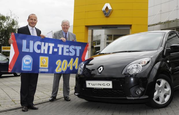 Licht-Test 2011-Teilnehmer können Renault Twingo gewinnen