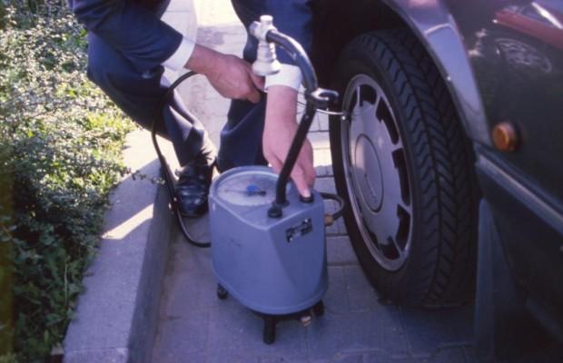 Luft für Reifenluftdruck bald kostenpflichtig?