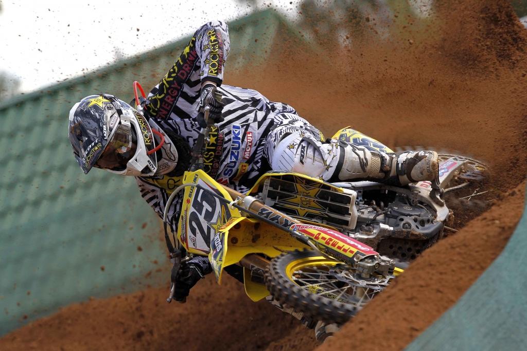 MX1 Weltmeisterschaft Lettland: Rockstar Energy Suzuki MX1 in den Top 10