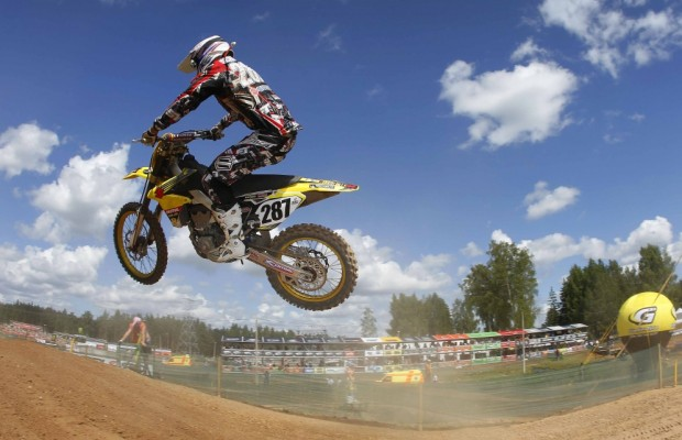 MX1 Weltmeisterschaft Lettland: Rockstar Energy Suzuki MX1 in den Top 10