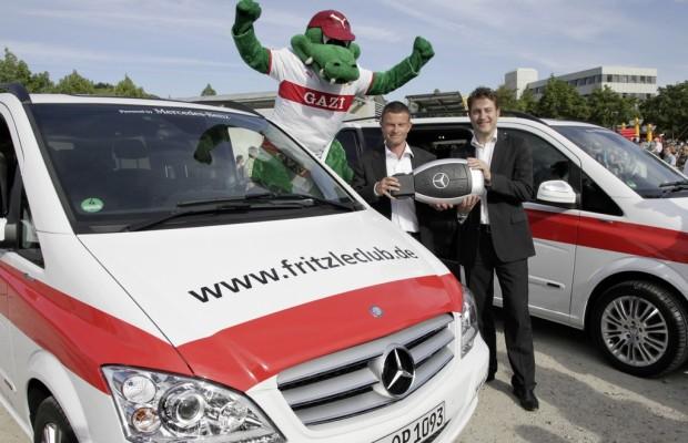 Mercedes-Benz Viano bleibt beim VfB am Ball