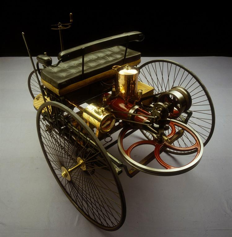 Mercedes-Benz bei den Schloss Dyck Classic Days: Benz Patent-Motorwagen, 1886 – das erste Automobil der Welt.