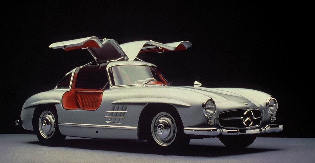 Mercedes-Benz bei den Schloss Dyck Classic Days: Mercedes 300 SL.