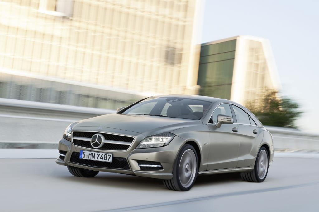 Mercedes bezeichnet den CLS als viertüriges Coupé