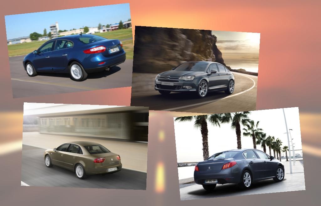 Mittelklasse-Limousinen im Vergleich - Europa vs. Japan