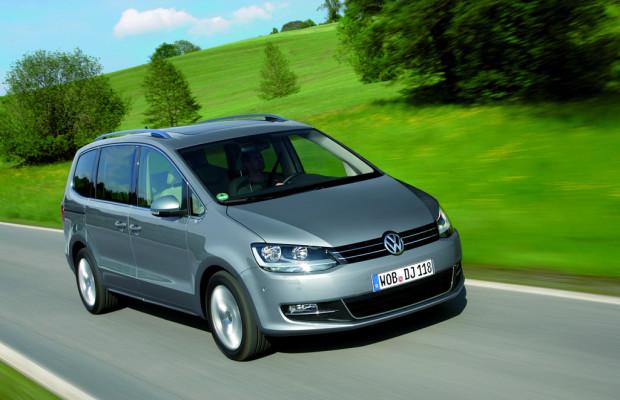 Neuer Einstiegsdiesel für den Volkswagen Sharan Trendline