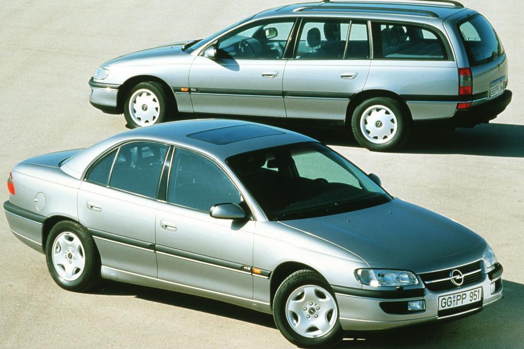 Opel Omega V6 Limousine und Caravan, ab1994