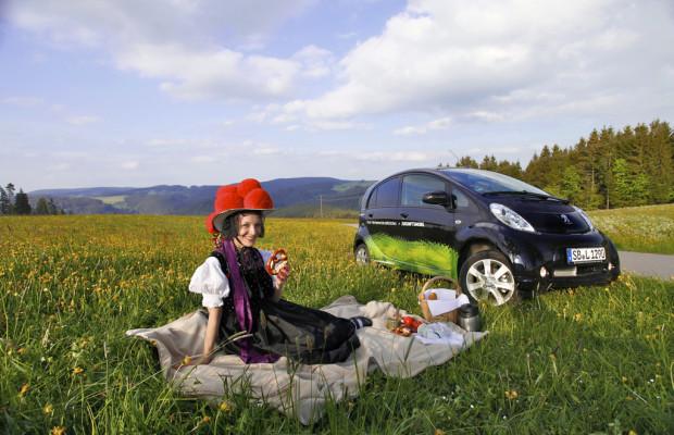 Peugeot Ion für Schwarzwaldurlauber