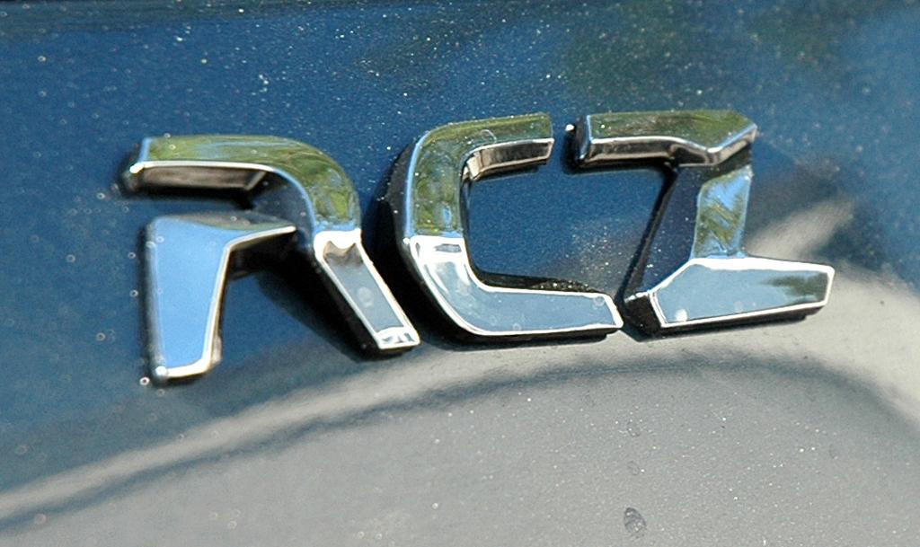 Peugeot RCZ Diesel: Modellschriftzug am Heck.