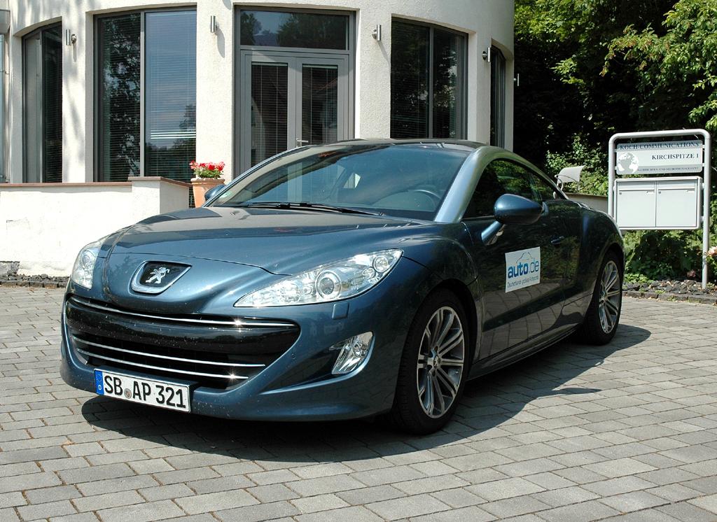 Peugeot RCZ, hier als einziger Turbodiesel mit 163 PS.