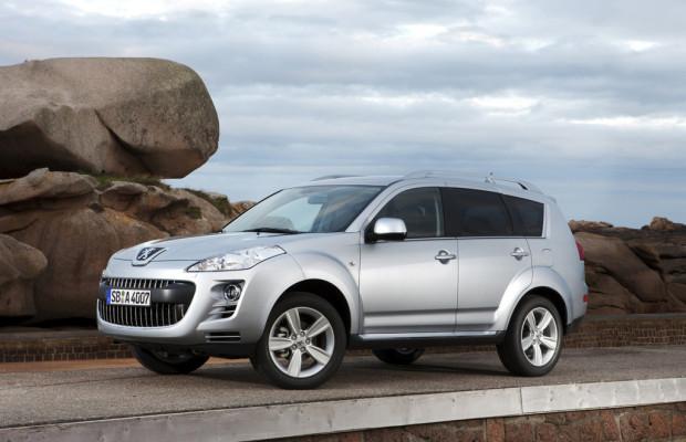 Peugeot wertet den 4007 auf