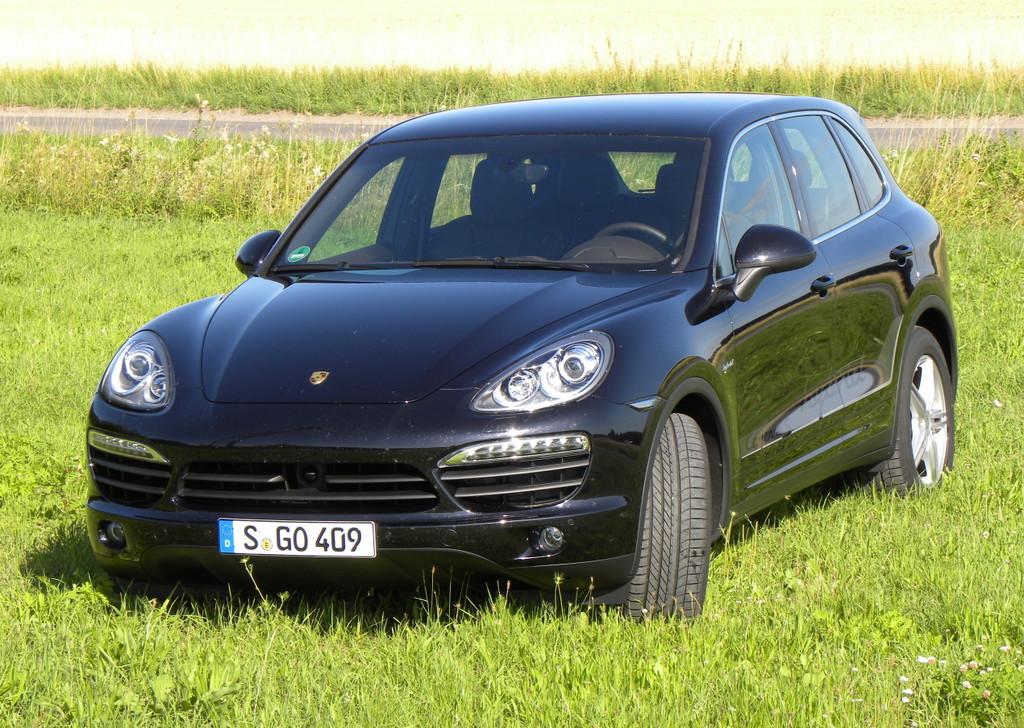 Porsche Cayenne Beispielbild