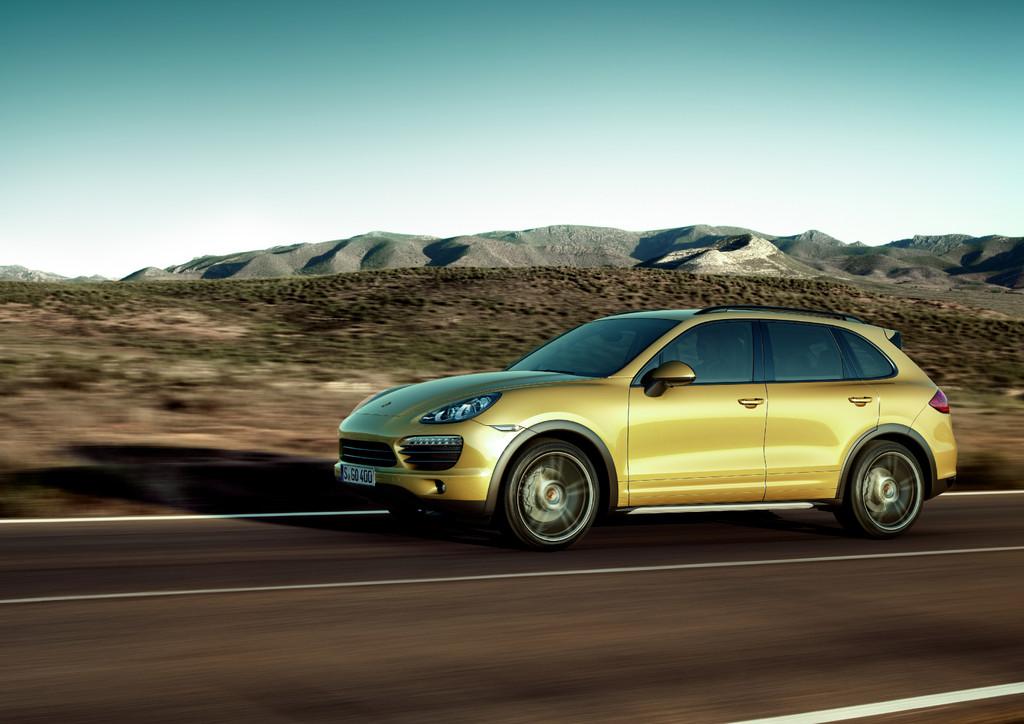 Porsche in den USA mit Cayenne besonders erfolgreich