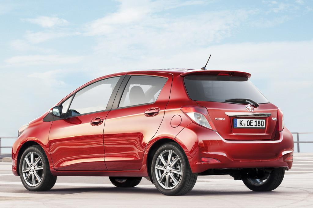 Pressepräsentation Toyota Yaris: Ausstattung wie ein Großer