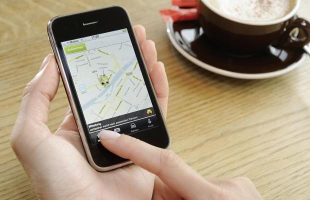 Radroutenplaner für das Mobiltelefon