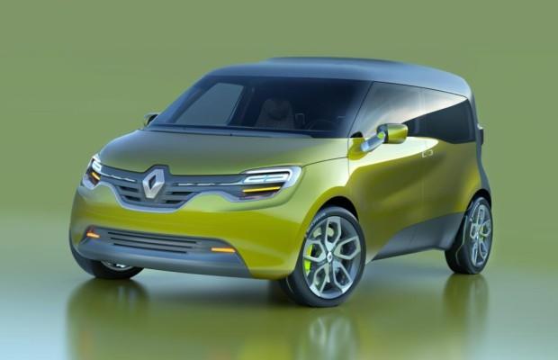 Renault Frendzy - Der Kangoo für das Elektro-Zeitalter