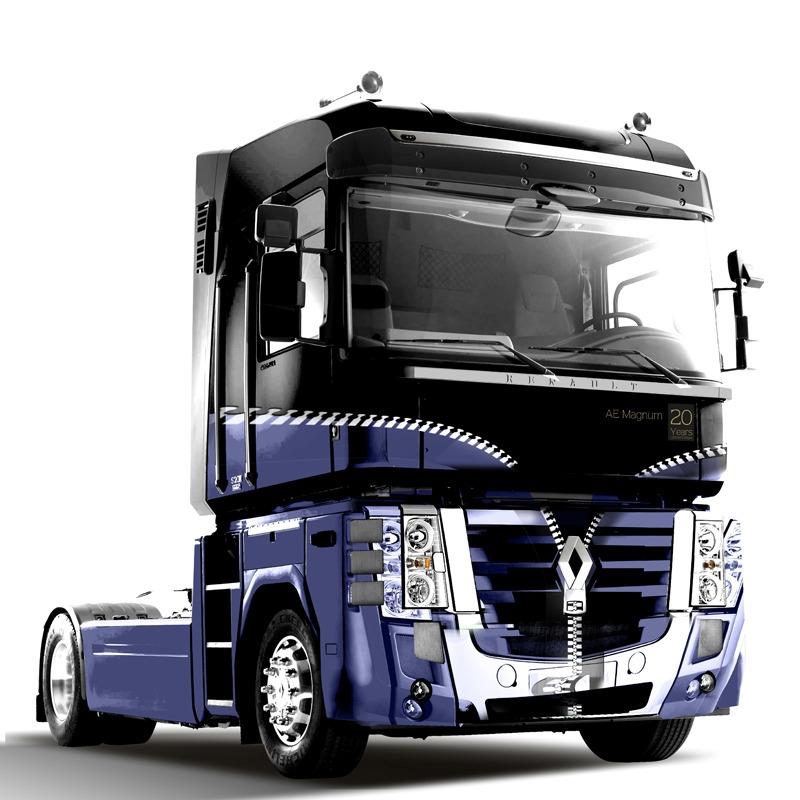 Renault Trucks feiert 20 Jahre Magnum mit Designmodell