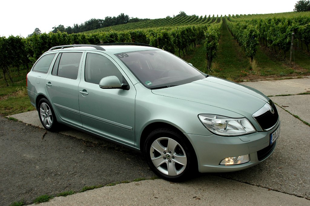 Skodas LPG-Octavia ist nebem dem Kombi (Foto) auch als Limousine zu haben.