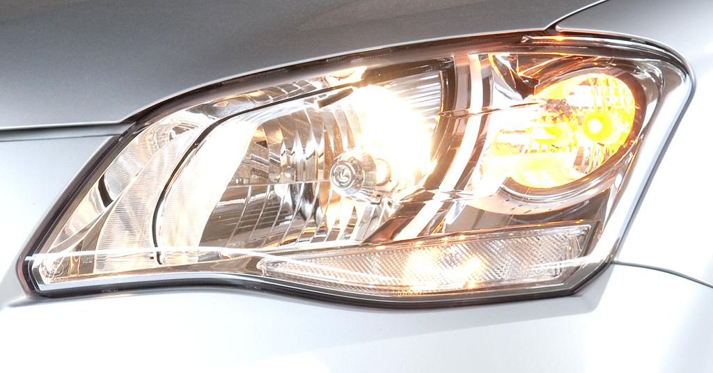 SsangYong Korando: In die Außenspiegel sind Blinkleisten integriert.