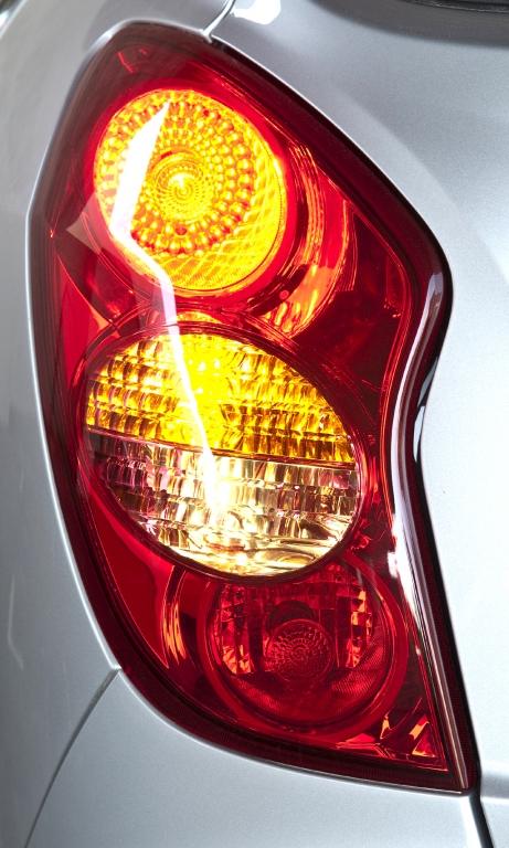SsangYong Korando: Moderne Leuchteinheit hinten.