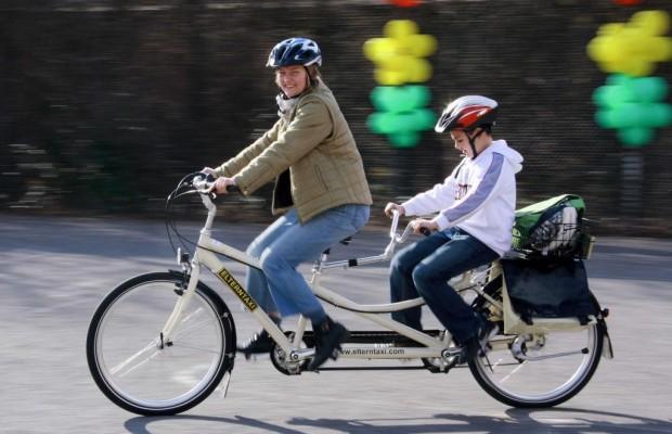 Tandems haben immer Konjunktur - Für den Radelspaß zu zweit