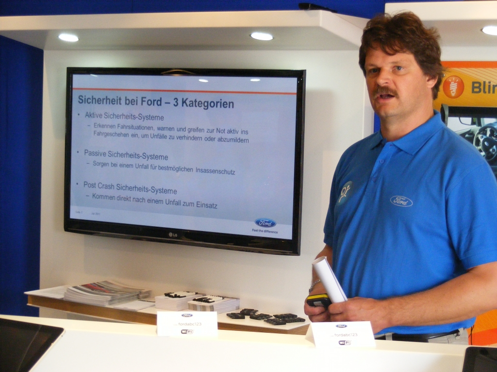 Thilo Moerke, Manager Fahrzeugsicherheit bei Ford