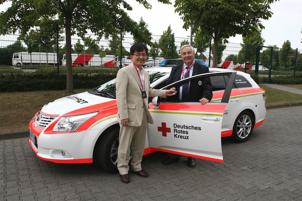 Toyota Avensis für das Deutsche Rote Kreuz
