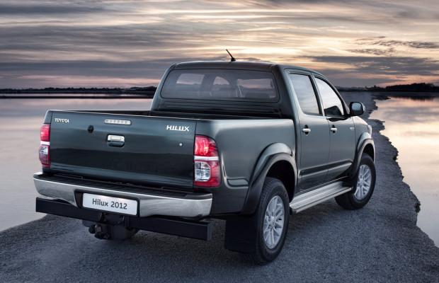 Toyota bringt im Dezember den neuen Hilux