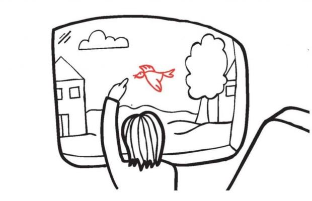 Transparenter Touchscreen - Das Autofenster wird zum Info-Display