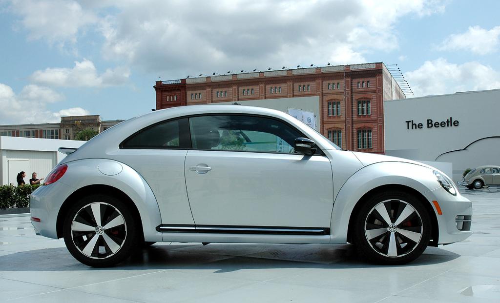 VW Beetle: Und so sieht der Zweitürer von der Seite aus.