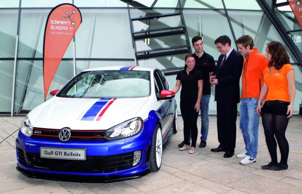 Volkswagen zeigt Golf GTI Reifnitz und XL1