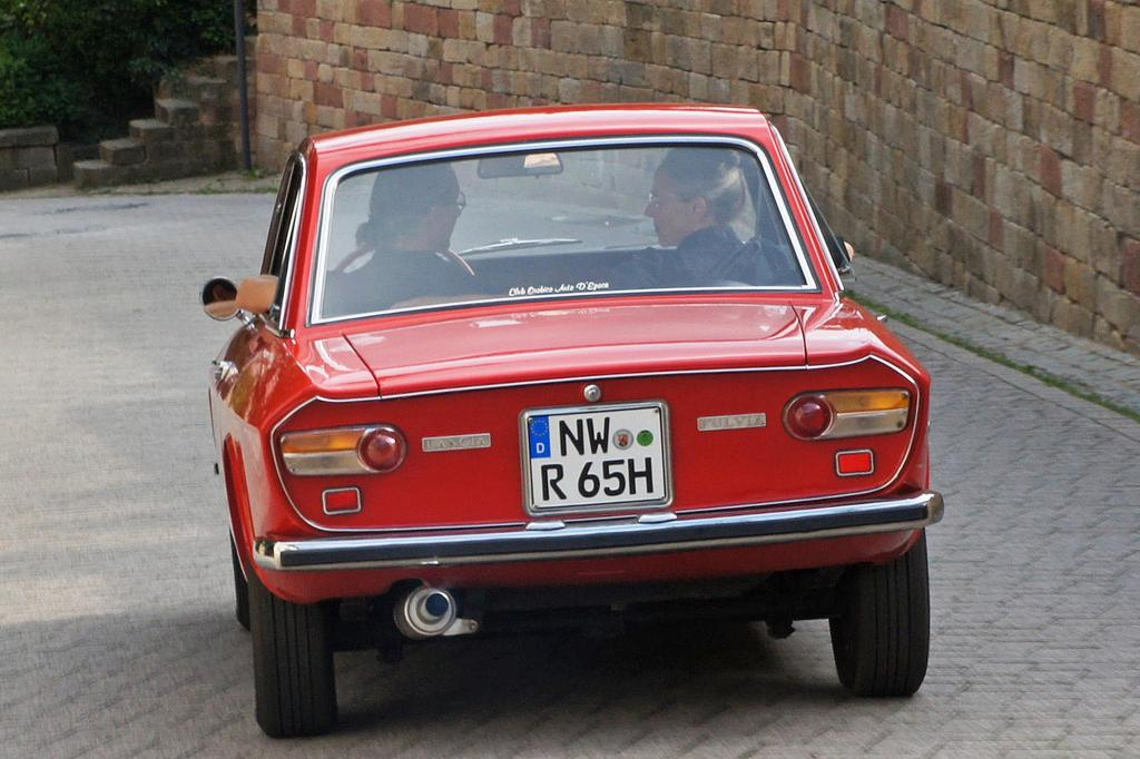 Vom Fulvia Coupé gab es auch leistungsstarke Rallyeversionen