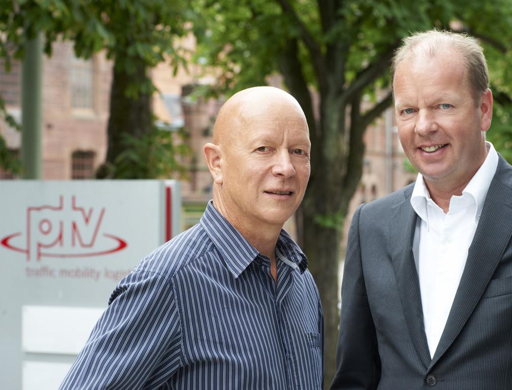 Wachwechsel bei PTV: Firmengründer Hubschneider verabschiedet