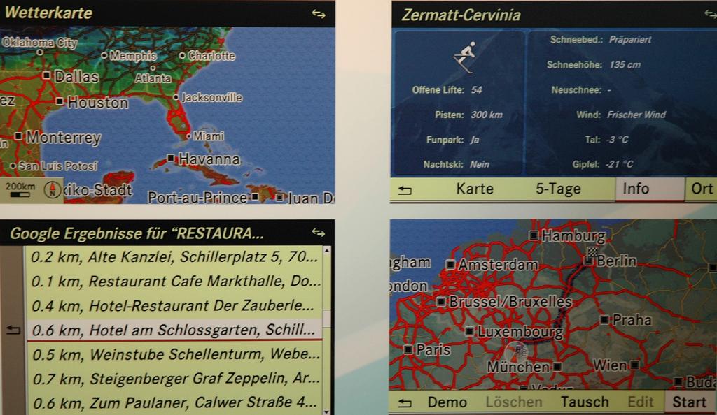 Was Sie wünschen II: Karibik, Zermatt-Cervinia, Restaurants, Mitteleuropa ...