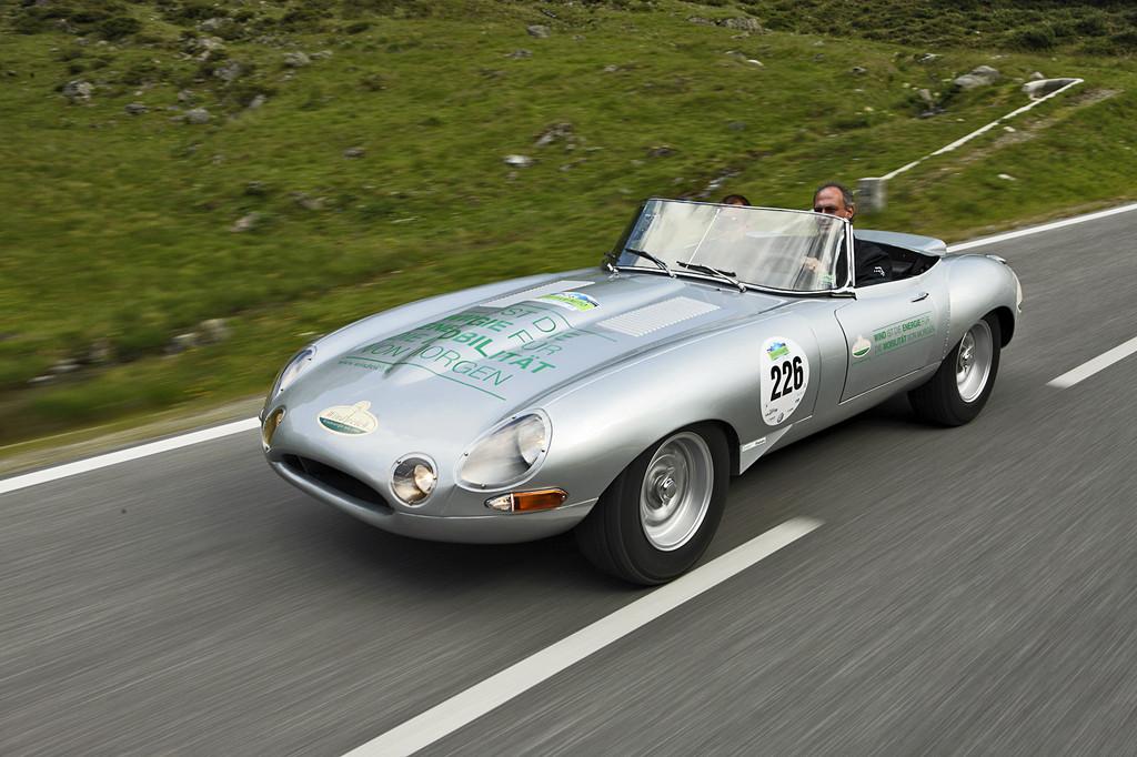 Windreich E auf Basis des Jaguar E.