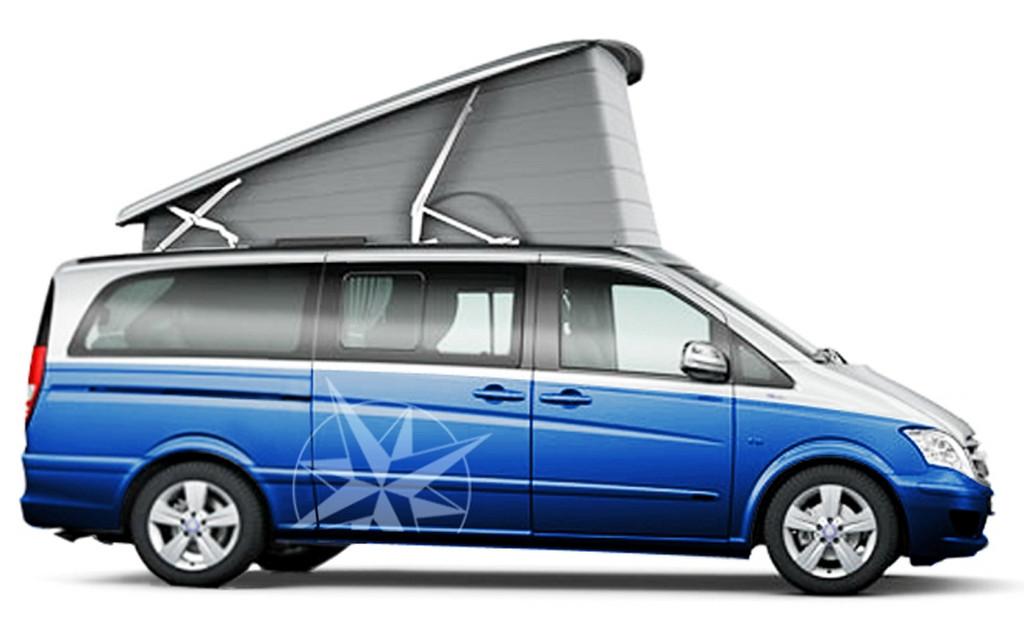 Zum Jubiläum: Edition 60 auf der Basis des Mercedes-Benz Viano.