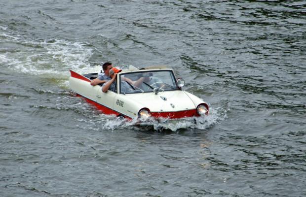125 Jahre Automobil: Der Amphicar ging baden
