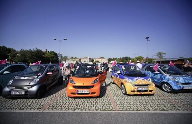 1500 Smart-Fans trafen sich in Italien