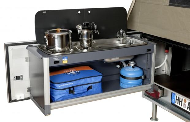 3DOG camping präsentiert neues Küchenmodul