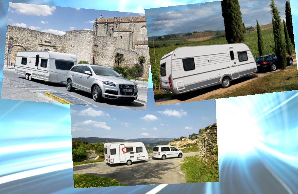 50. Caravan Salon: Schminke und Tusche für die Wohnwagen