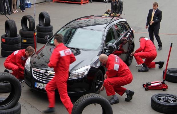 A.T.U stellt Reifenwechsel-Rekord auf