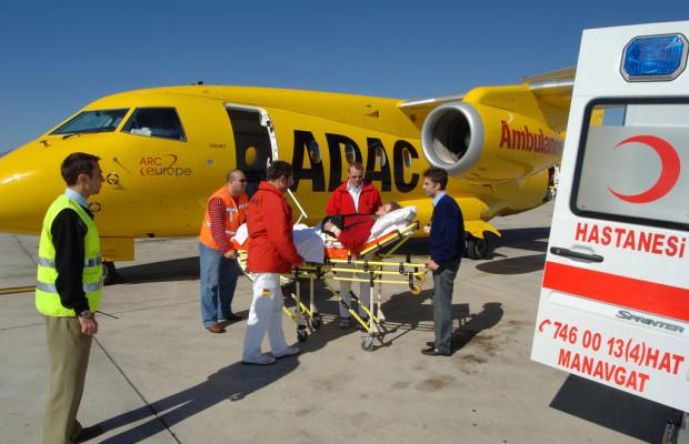 ADAC hilft bei  Krankheit im Auslandsurlaub