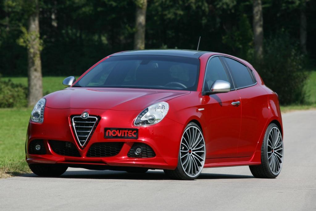 Alfa Romeo Giulietta: Novitec pimpt kleine Italienerin auf 261 PS