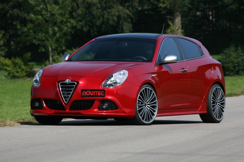 Alfa Romeo Giulietta: Novitec pimpt kleinen Italiener auf 261 PS