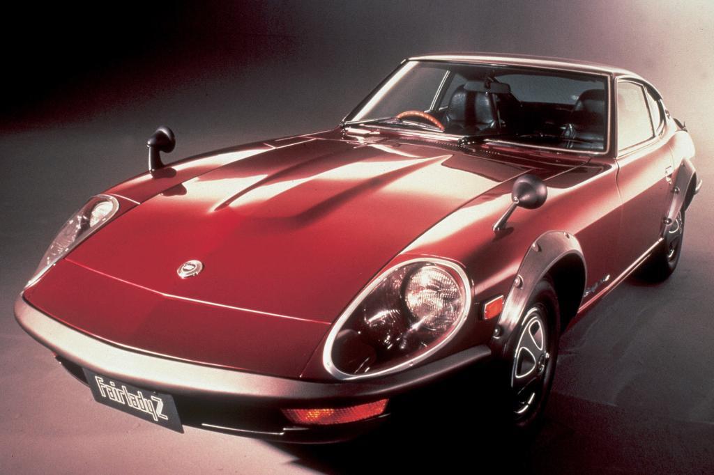 Als Alternative zu Porsche 911 und Jaguar E-Type positionierte Nissan den 240Z