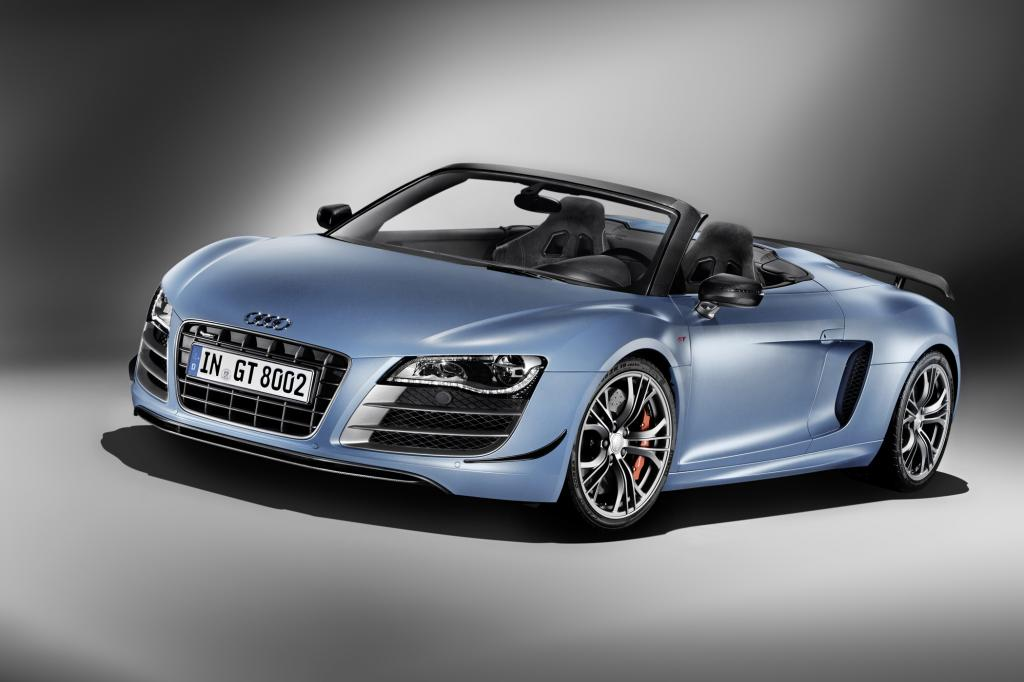 Als stärkste Ausbaustufe der Roadster-Reihe kommt der Audi Rb Spyder GT