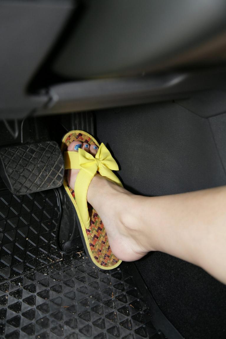 Auch Flip-Flops sind gefährlich.